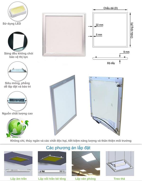 Cách lắp đặt LED Panel
